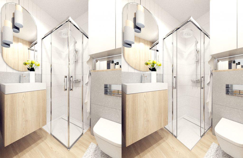 wizualziacja-łazienki-Radway-Teos-C-kabina-Radaway-Idea-Rocka-GAP-geberit-deszczownia-Grohe-1024×666